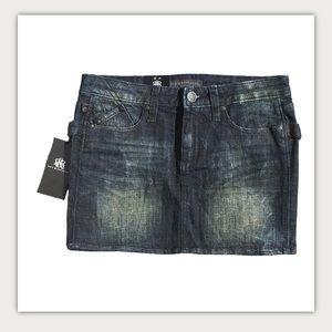 Rock & Republic Jean Skirt Vagabond Mini